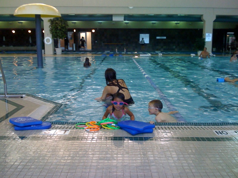 Swim lessons - Wednesday night